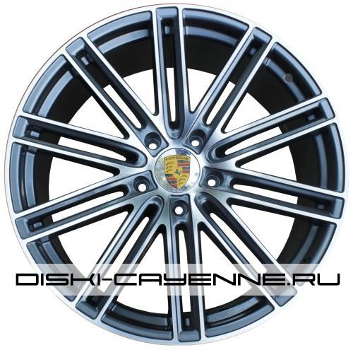 Диск Porsche PR10098OEM серый с полировкой
