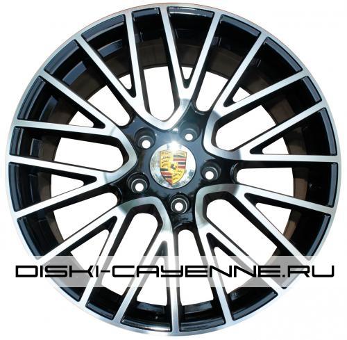Диск Porsche PR10024OEM черный с полировкой