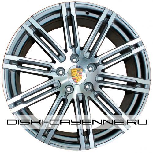 Диск Porsche PR10037OEM серый с полировкой