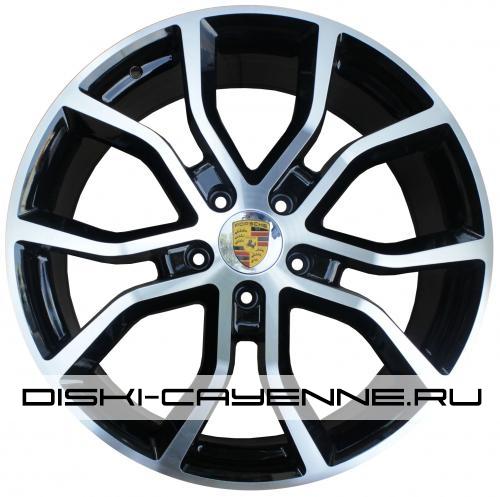 Диск Porsche PR10039OEM черный с полировкой