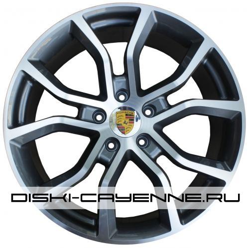 Диск Porsche PR10041OEM серый с полировкой