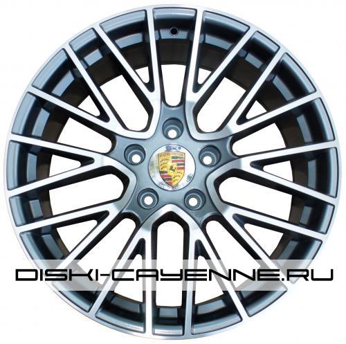 Диск Porsche PR10081OEM серый с полировкой