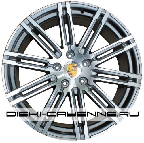 Диск Porsche PR10086OEM серый с полировкой