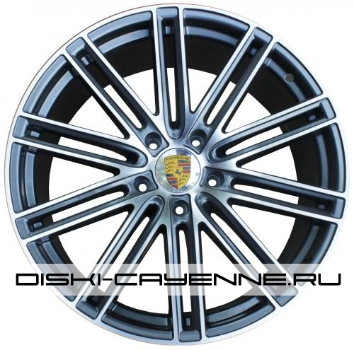 Диск Porsche PR10092OEM серый с полировкой